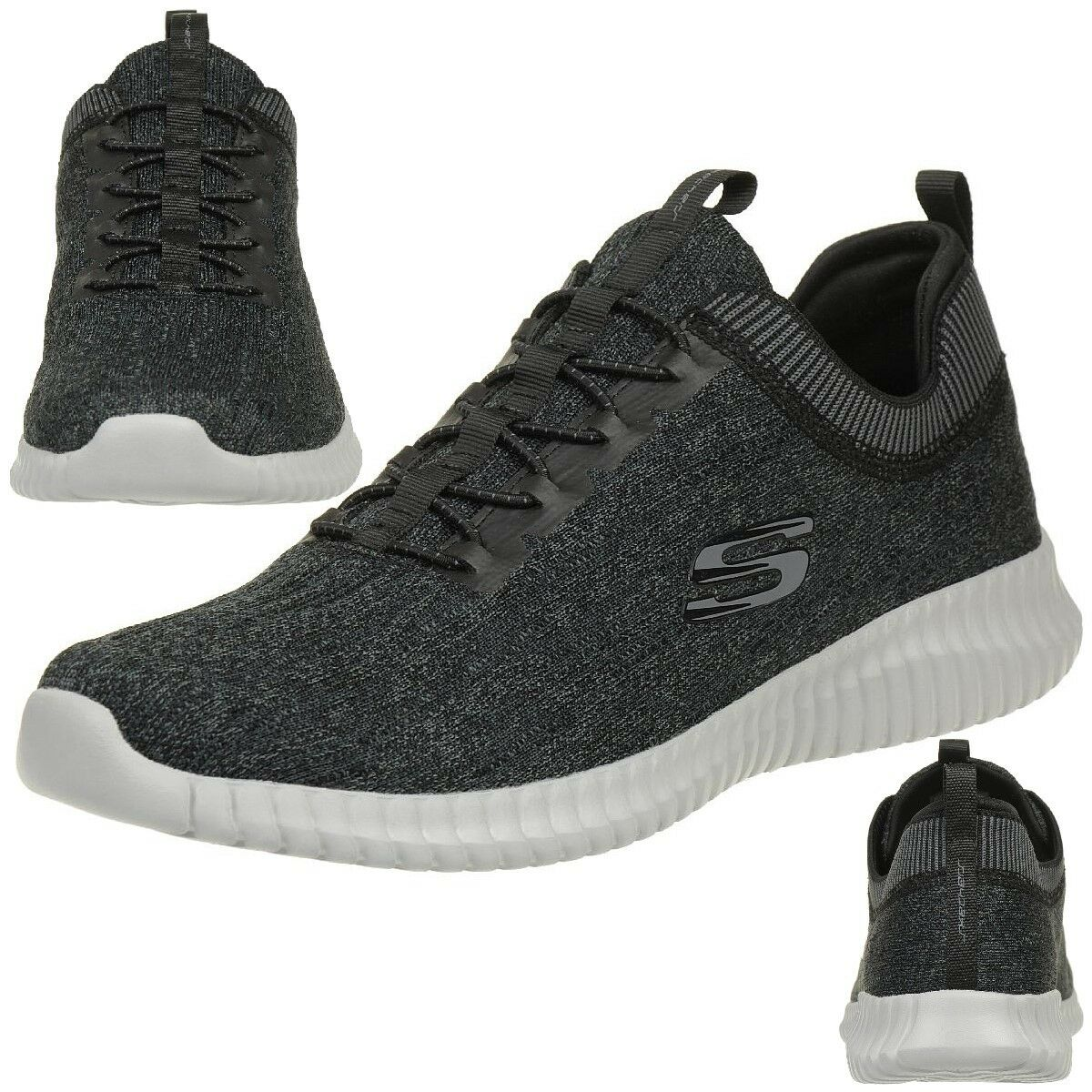 sketchers élite bkgy hommes flex hartnell chaussures bkgy élite baskets fitness 219ff5