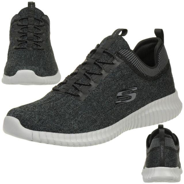 Skechers Elite Flex Hartnell Men s Sneakers Fitness Shoes Bkgy 5e83ebd629