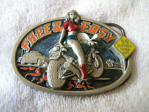 Slippery When Wet Belt Buckle