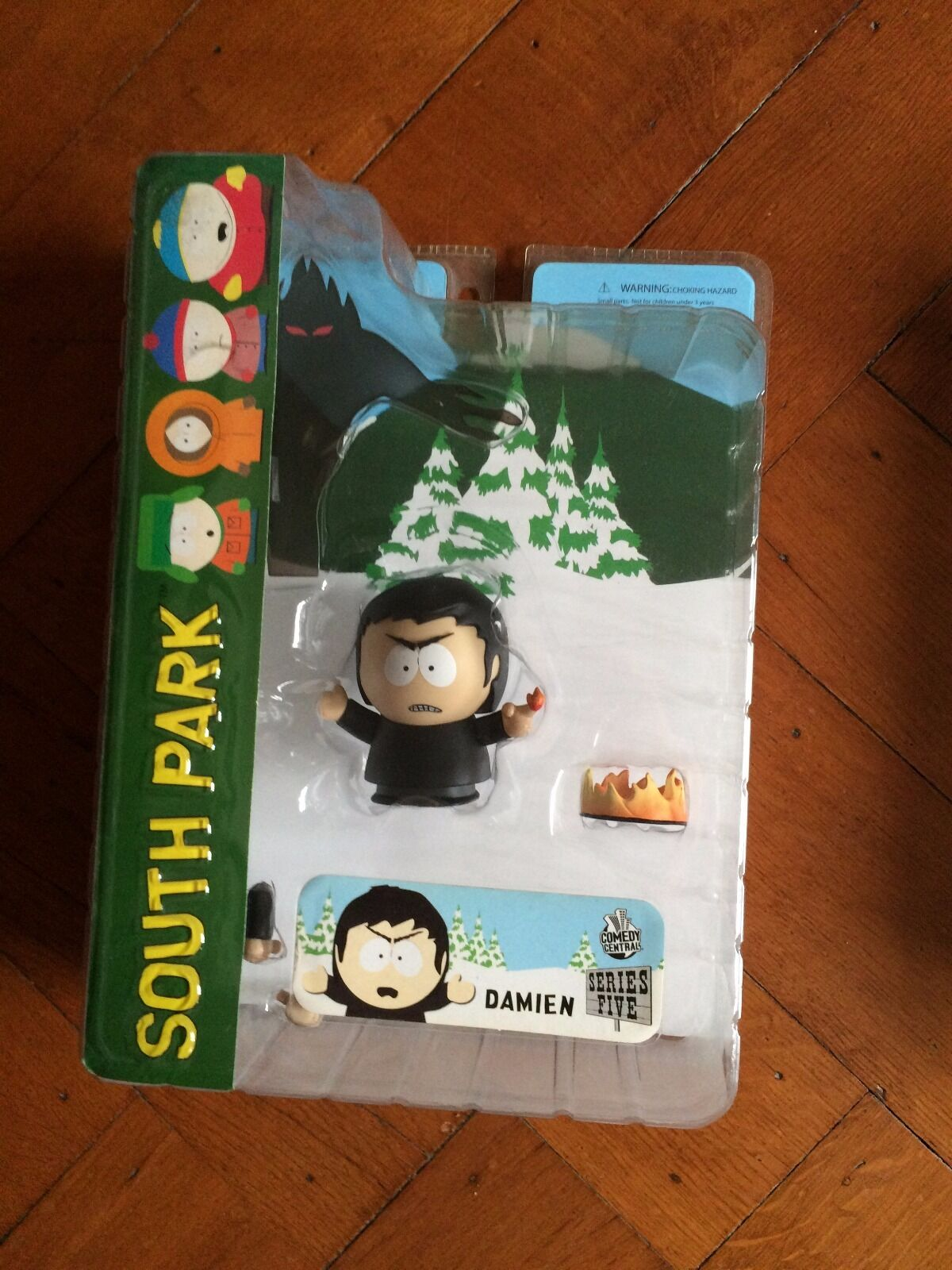 South Park Series 5,  Damien, Mezco 2006 New Sealed
