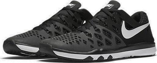 Men's Nike Train Speed 4 Training SIZE 10 shoes Black White Black 843937-010