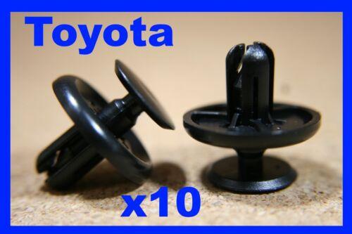 For TOYOTA 10 push retainer engine cover case panel trim fastener clips