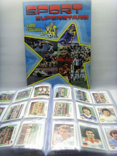 OLANDA SPORT SUPERSTARS//EURO FOOTBALL 82-PANINI-Figurina n.262 Rec HARTOG