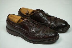 Alden-Men-039-s-975-Long-Wing-Blucher-Color-8-Shell-Cordovan-Dress-Shoes-9-5-C-E