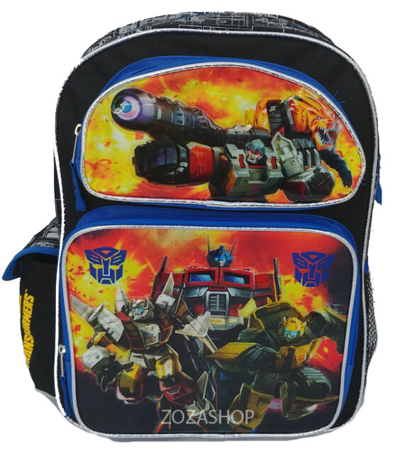 NEW Transformers Backpack//Anime School Bag Rucksack kid boy girl Optimus Prime@@