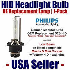 OE HID Headlight Low Beam GENUINE German PHILIPS Select Mazda & Mini Cooper D2S