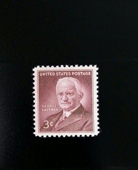 1954 3c Eastman Kodak Company, George Eastman Scott 106
