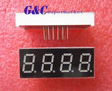 2pcs 056 Inch 4 Digit Led Display 7 Segment Common Cathode Red