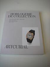 Catalogue vente HORLOGERIE DE LA COLLECTION 18/07/16  Rolex Cartier + autres