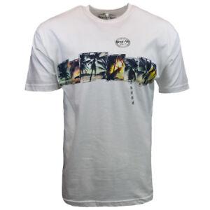 Mens-Tee-T-Shirt-Surf-Bahama-Beach-Hawaiian-Aloha-Casual-Graphic-100-Cotton-NEW
