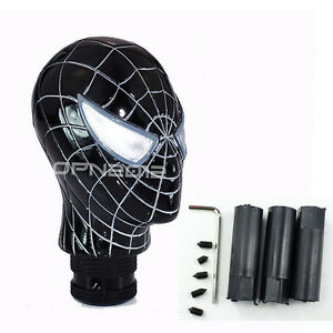 Black-Spider-man-Universal-Car-Manual-Shift-Gear-Stick-Speed-Lever-Knob-Resin