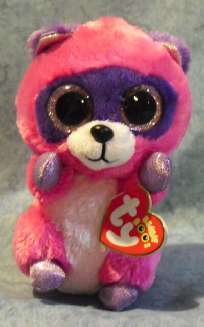 Ty Beanie Boo Plush - Roxie The Racoon 15cm for sale online  5f561bfc541