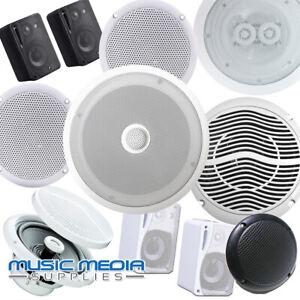 Decke-Wand-Lautsprecher-6w-40w-80w-250w-300w-Shop-Home-oder-Showroom-Hifi-Surround