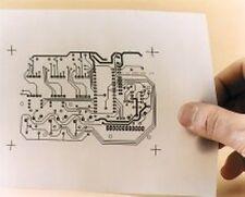 Impresora láser A4 PCB obras de arte película transparente clara transparencia por hoja