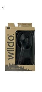 Wildo Camp-A-Box Olive Green 4 Piece Outdoor Camping Meal Kit New NIB