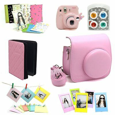 F/S Fujifilm Instax Mini 8 Instant without Camera only Accessory Pink cheki JP