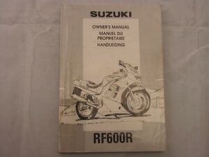 SUZUKI-RF600-1994-OWNERS-MANUAL-HANDLEIDING-MANUEL-DU-PROPRIETAIRE