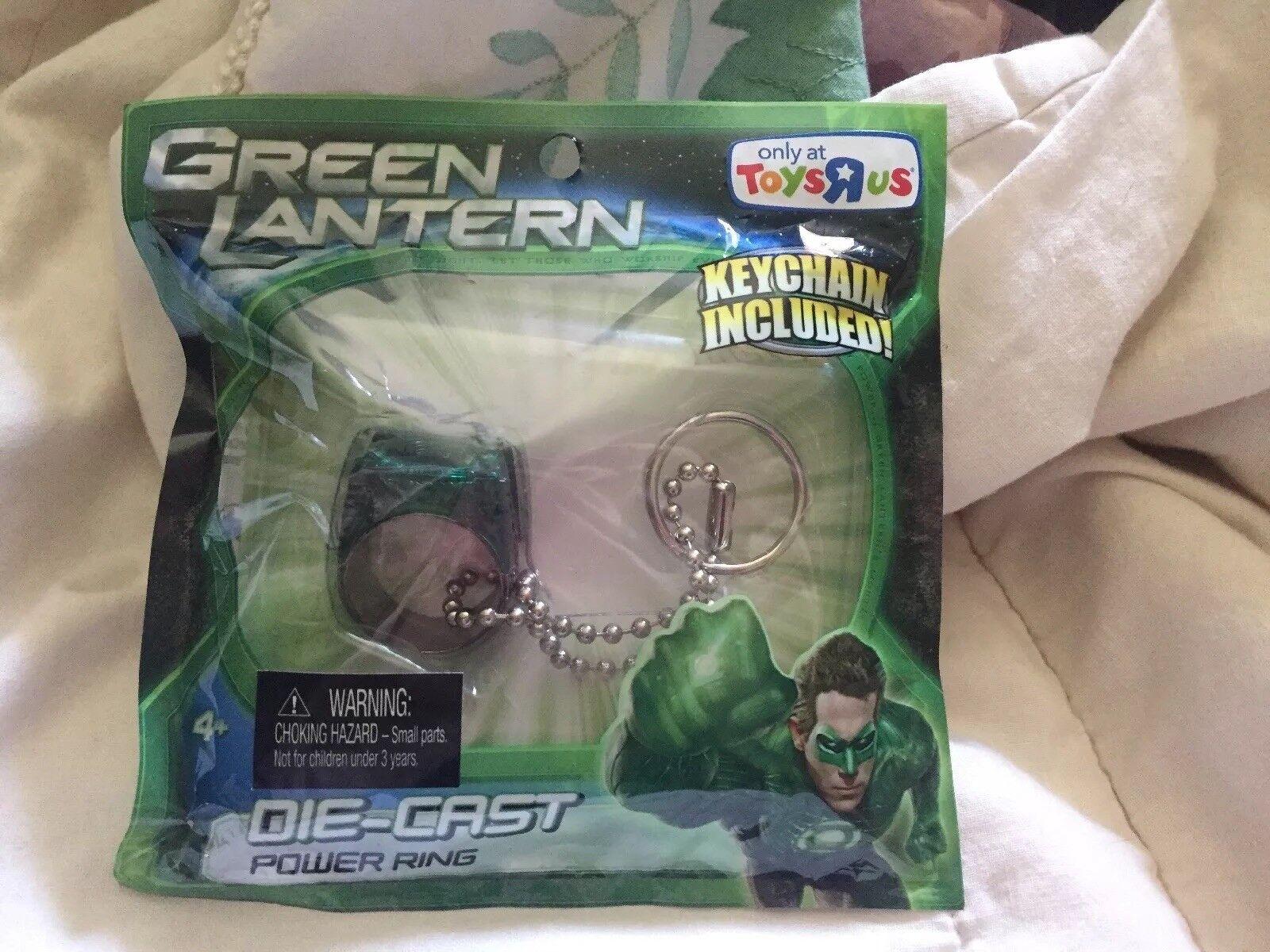 verde Lantern anello del potere giocattoli esclusivo Diecast R Us DA COLLEZIONE RARO