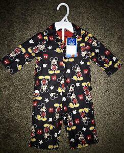 NWT-DISNEY-Mickey-Mouse-2-piece-infant-baby-boy-pajama-set-size-18-months
