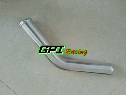 "76mm 3/"" 45 Degree Aluminum Turbo Intercooler Pipe Tube Tubing 600 MM"