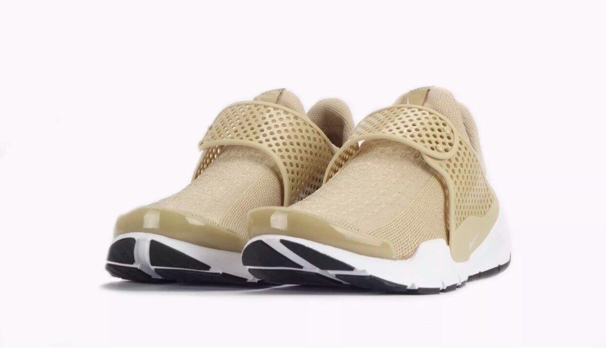 Femme Nike Sock Dart de Lin Blanc Taille 5.5.