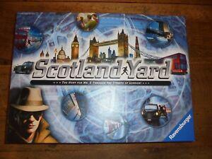 Scotland Yard - Hunt for Mr X Game - Ravensburger 2014 Complete Game