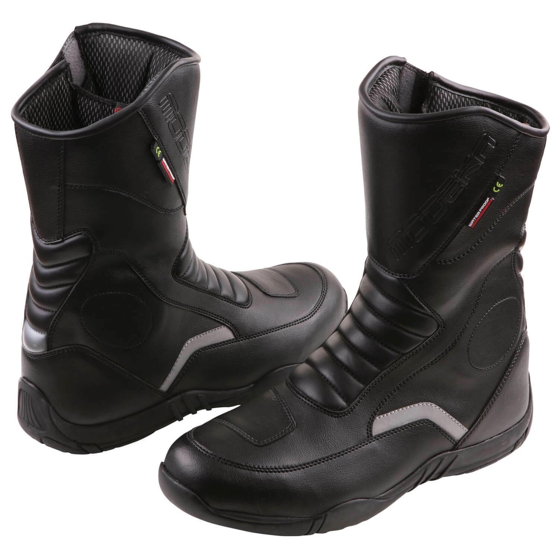 Modeka Blaker Men's Motorcycle Boots Microfibre - Black