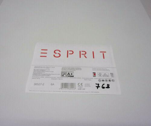 4 Rollen Esprit Home 14 Vliestapete  0,69€//Meter Textil Uni Grau 36527-2-6A