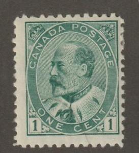 Canada 1903 #89 King Edward VII MH F