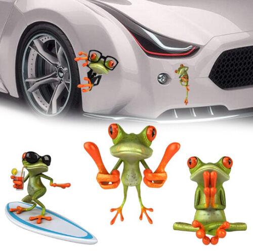 3D Cute Peep Frog Funny Car Stickers Truck Window Vinyl Decal Graphics Sticker