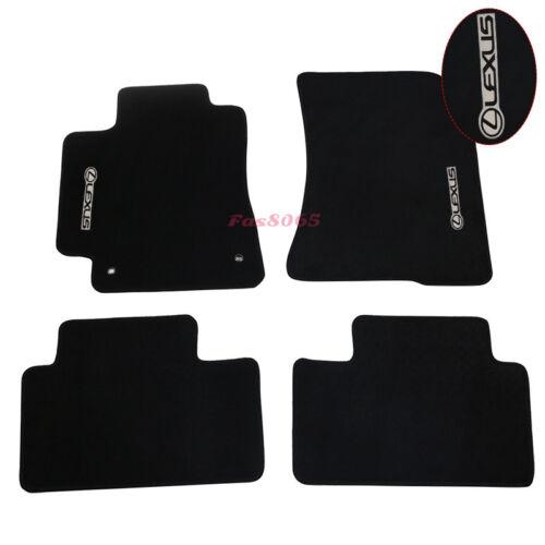 Fit For 01-05 Lexus IS300 Black Nylon Floor Mats Carpet  4PCS Set Front /& Rear