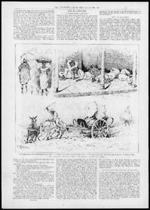 1898-Antique-Print-SPANISH-AMERICAN-War-Illustration-Cuba-Rainy-Season-166