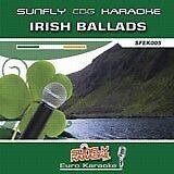 IRISH BALLADS SUNFLY KARAOKE CD+G / 18 TRACKS