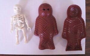 Playmobil Squelette et momie marron