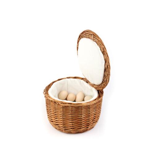 17 cm Gastlando 20 Eier Ø 26 cm Höhe Rattan Eierkorb Buffetkorb Eierwärmer ca
