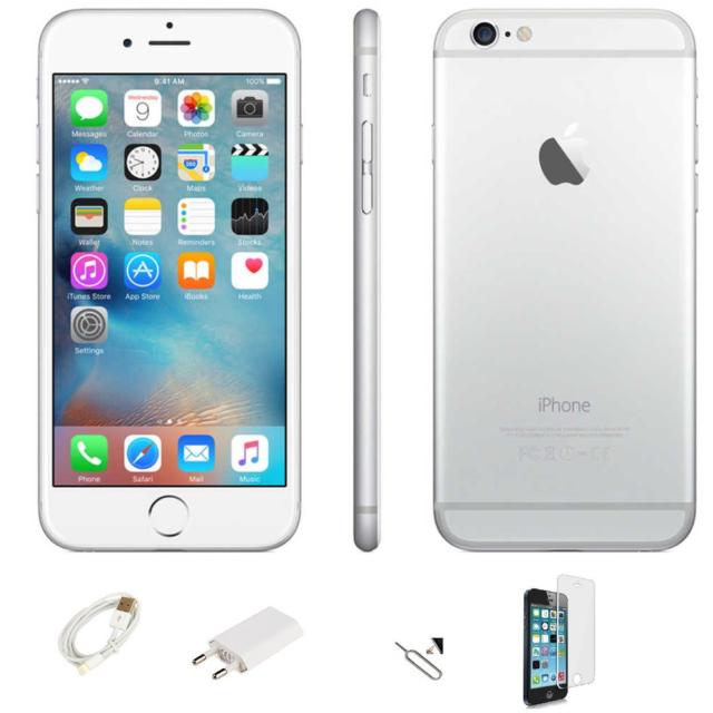 IPHONE 6 REACONDICIONADOS 64GB PUEDE B BLANCO SILVER ORIGINAL APPLE RECUPERADO