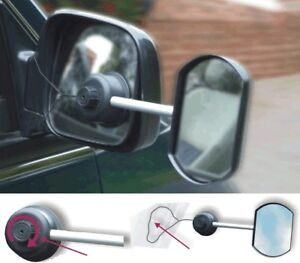 * Pack of 2 * Suck It And See Towing Mirror [ LWACC35] Flat Glass