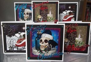 handmade-mini-gothic-christmas-cards-set-1-a-choice-of-one-or-set-of-six-skulls