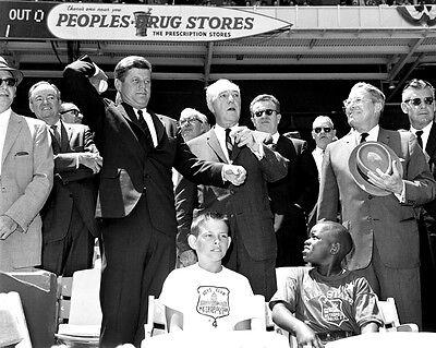 President John Kennedy with Chicago Mayor Richard Daley 1962 New 8x10 Photo