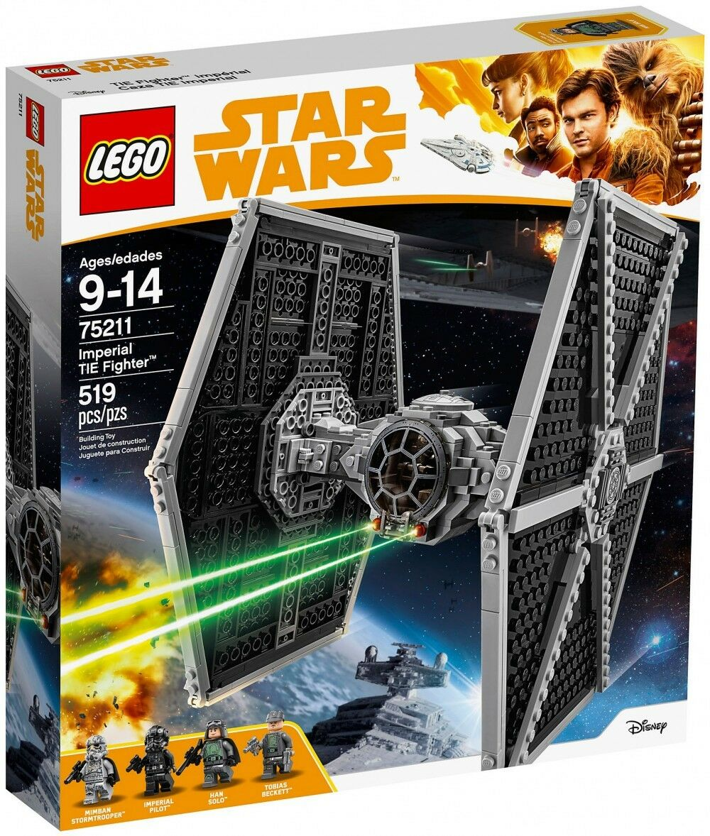 Lego 75211 Le-Tie-Fighter-Imperial NEUF