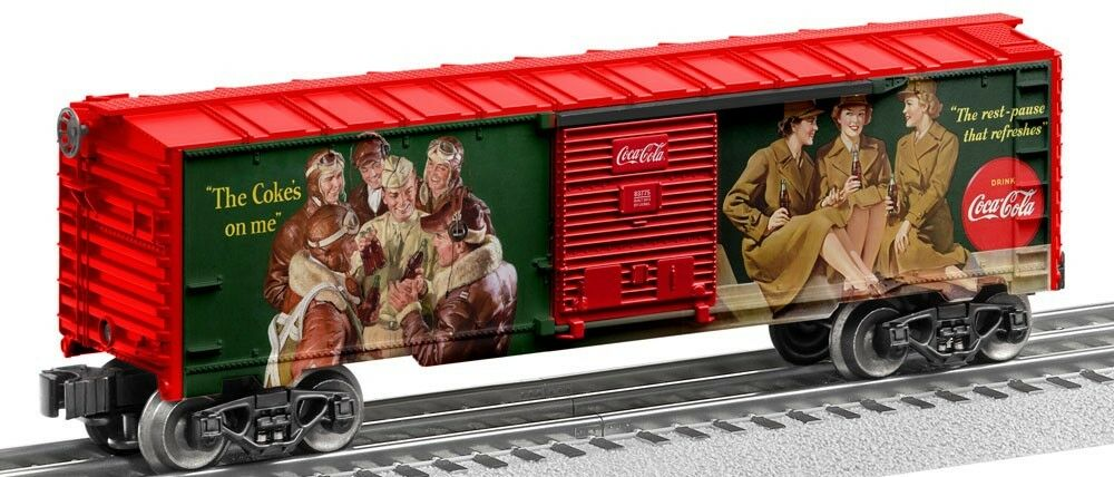 Lionel  83775 Coca-Cola Heritage Boxcar  1