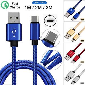 Rapido-Samsung-Galaxy-S9-S9-S8-Plus-Tipo-C-USB-Cargador-de-Sincronizacion-de-C-Cable-de-carga