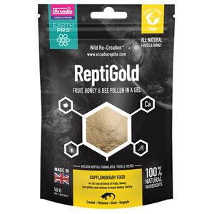 Arcadia Earthpro Reptigold, 50 G Jellypot Gold Pour Crested Geckos, Day Geckos-afficher Le Titre D'origine Sang Nourrissant Et Esprit RéGulateur