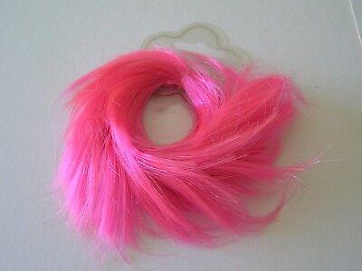 1 Nuovo Rosa Finta Capelli Swirl Kids Girl 75mm Diam. Ponio Fascia Elastica Elastico Tie-mostra Il Titolo Originale Avere Uno Stile Nazionale Unico