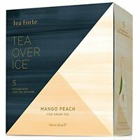 Mango Peach By Tea Forte - Five Iced Teas, New, Free Shipping on sale