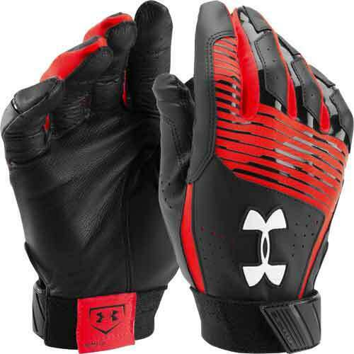Under Armour Clean Up Baseball Softball Batting Gloves Youth Boy/'s,Kids 1299531