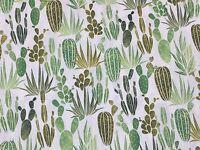 RPFHM50A Succulent Cactus Cacti Desert Garden Desert Dawn Cotton Quilt Fabric