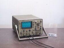 HP 1707A OSCILLOSCOPE 2x 75 MHz *stds F997