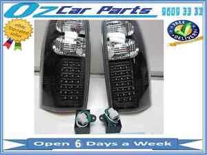 Holden-Commodore-VT-VX-VU-VY-VZ-Ute-Wagon-LED-Altezza-Taillights-BLACK-LED-NEW