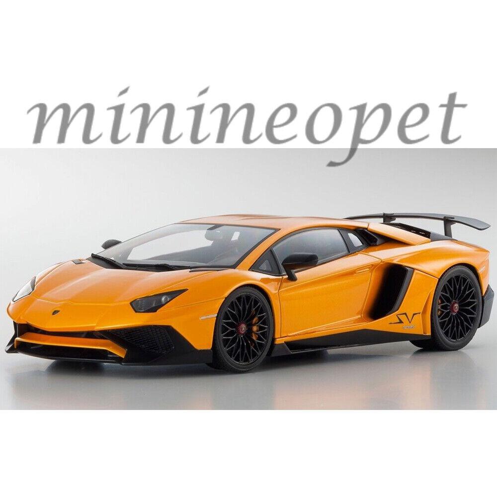 Kyosho Lamborghini Aventador C 09521 P Ousia Lp 750-4 súperveloce 1 18 Naranja